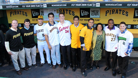Representatives from each affiliate were recognized at PNC Park last week for their community service.