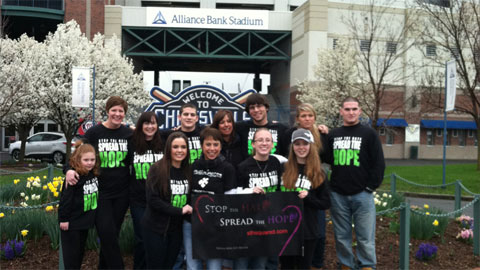 "Strike-Out Bullying Night on Wednesday aims to ""Stop the Hate, Spread the Hope."""